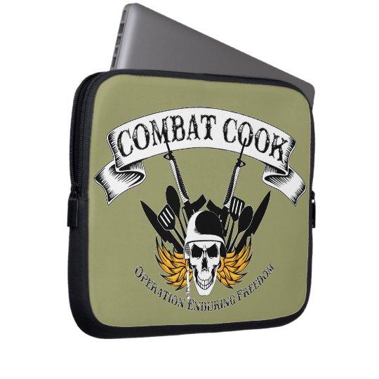 Combat Cook - OEF Laptop Sleeve