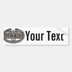 Combat Field Medical Badge (CFMB) Bumper Sticker
