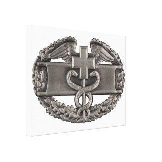 Combat Field Medical Badge (CFMB) Canvas Print