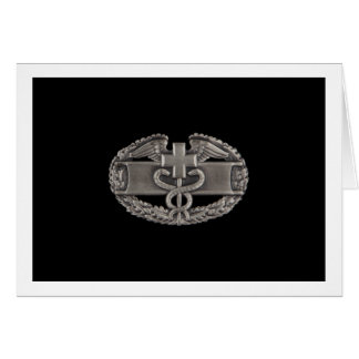 Combat Field Medical Badge (CFMB) Card
