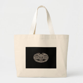 Combat Field Medical Badge (CFMB) Large Tote Bag