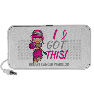 Combat Girl 2 Breast Cancer Hot Pink Mp3 Speaker