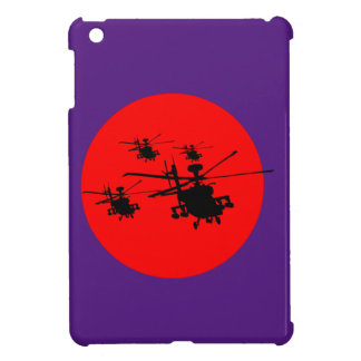 Combat helicopter combat more helicopter iPad mini case