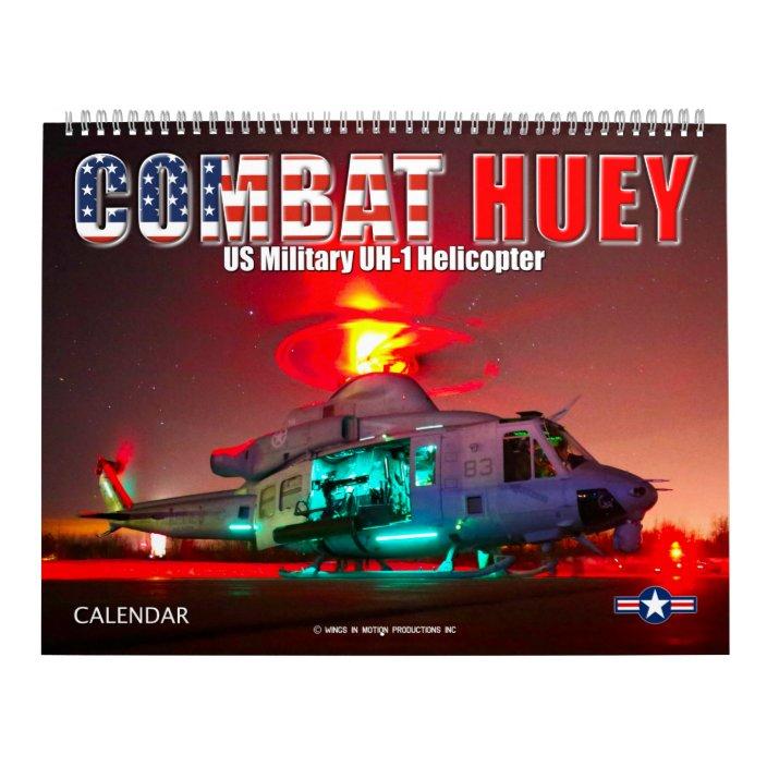 Uh Calendar 2022.Combat Huey Uh 1 Helicopter Calendar Zazzle Com