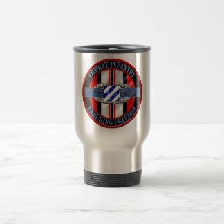 Combat Infantry OEF 3rd ID Travel Mug