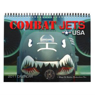Combat Jets USA 2011 Calendar