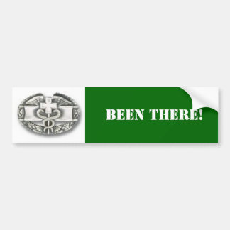 combat medic, BEEN THERE! Bumper Stickers