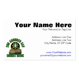 Combat Medic Double-Sided Standard Business Cards (Pack Of 100)