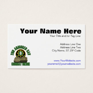 Combat Medic Business Card