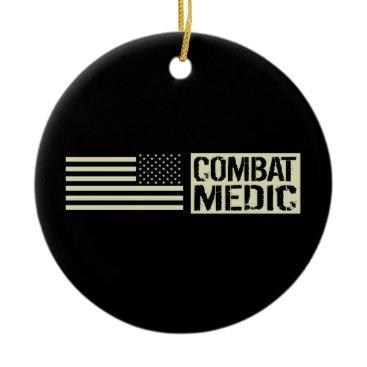 Combat Medic Ceramic Ornament