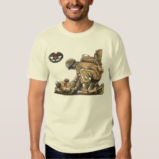 Combat Medic - Lay Down Ones Life T Shirt