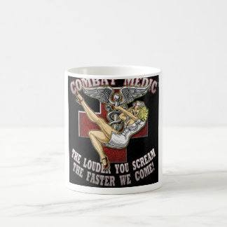 Combat Medic Classic White Coffee Mug
