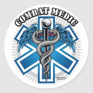 Combat Medic Stickers