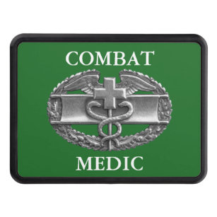 Combat Medical Badge Hitch Cover