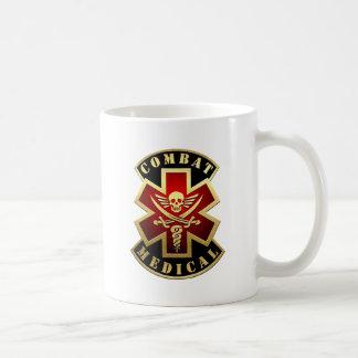 Combat Medical Skull & Swords Cross Patch Coffee Mug