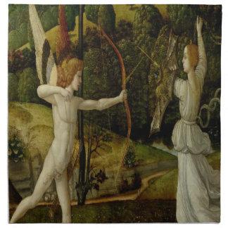 Combat of Love and Chastity Napkin
