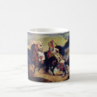 Combat of the Giaour and the Pasha by Delacroix Coffee Mug