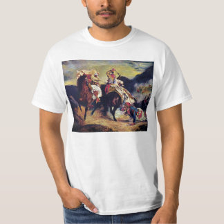 Combat of the Giaour and the Pasha by Delacroix T-Shirt