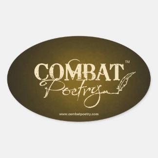 Combat Poetry Sticker