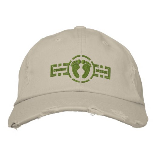 Combat Rescue Roundel Hat Embroidered Baseball Cap