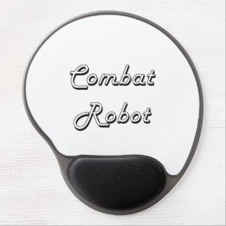 Combat Robot Classic Retro Design Gel Mouse Pad