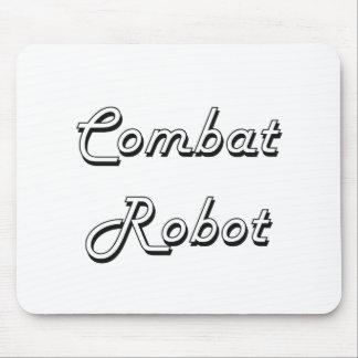 Combat Robot Classic Retro Design Mouse Pad