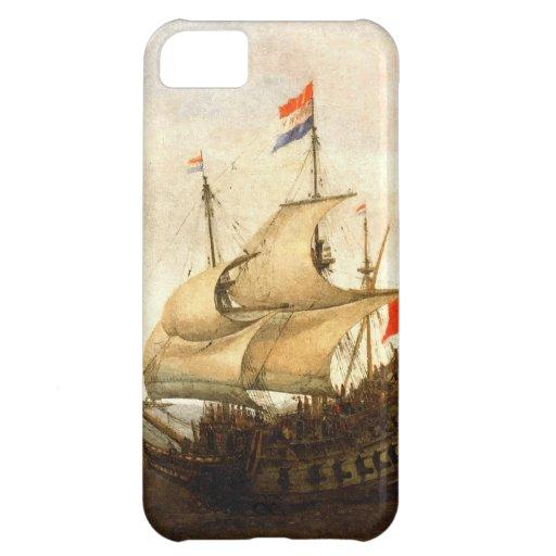 Combat sailboat iPhone 5C cases