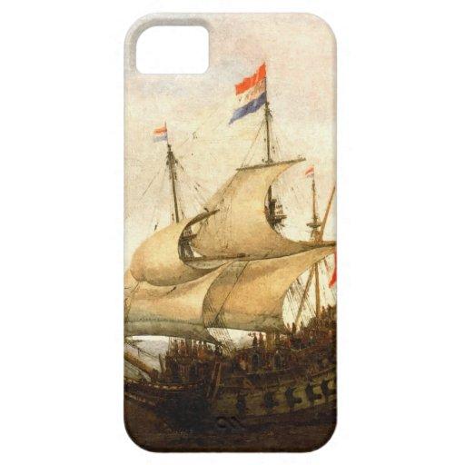Combat sailboat iPhone 5 cases