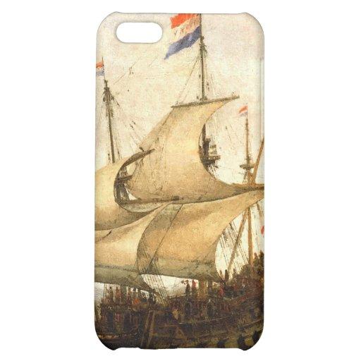 Combat sailboat iPhone 5C cover