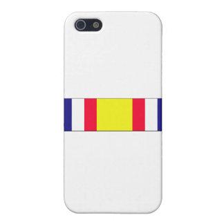 Combat Service Commemorative Ribbon Cover For iPhone SE/5/5s