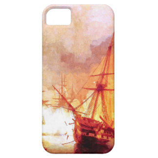 Combat ships at sea iPhone SE/5/5s case