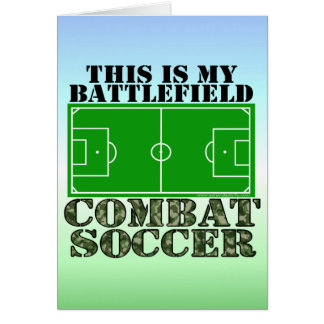 Combat Soccer Card
