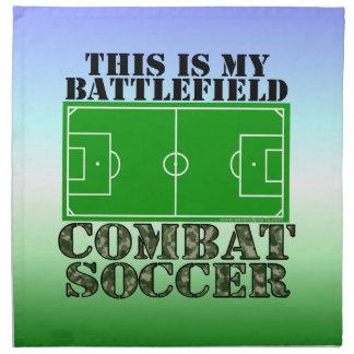 Combat Soccer Cloth Napkin