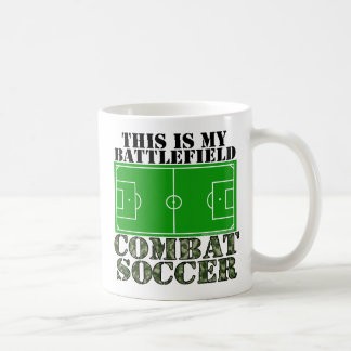 Combat Soccer Coffee Mug