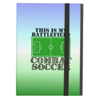 Combat Soccer iPad Air Cover