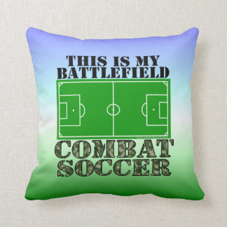 Combat Soccer Pillows