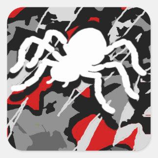 Combat Spider Square Sticker
