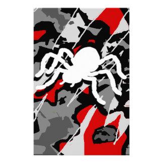 Combat Spider Stationery