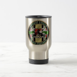 Combat Tanker Armor 19K OIF 11th Armored Cavalry Coffee Mug