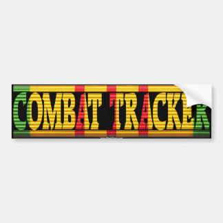 Combat Tracker Vietnam Service Ribbon Sticker Car Bumper Sticker