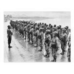 Combat Uniforms Gasmasks Postcards