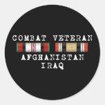Combat Vet Sticker