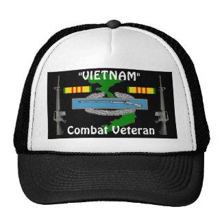 Combat Vet Vietnam Ball Cap 1/b Trucker Hat