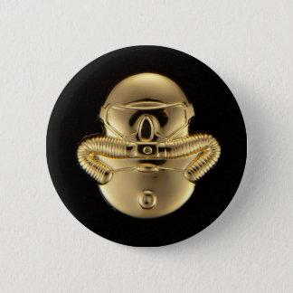 Combatant Diver Pinback Button