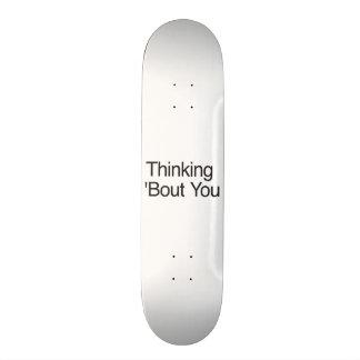 Combate de pensamiento usted patinetas personalizadas