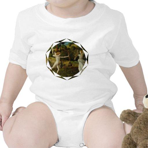 Combate del amor y de la castidad trajes de bebé