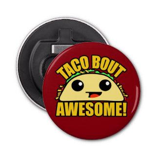 Combate del Taco impresionante Abrebotellas Redondo