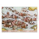 Combate naval tarjeta