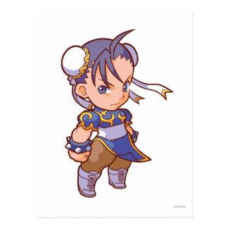 Combatiente Chun-Li 2 del bolsillo Postal