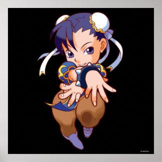 Combatiente Chun-Li del bolsillo Poster